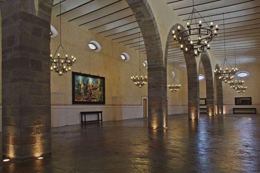 Hacienda soltepec - Salones con columnas ...