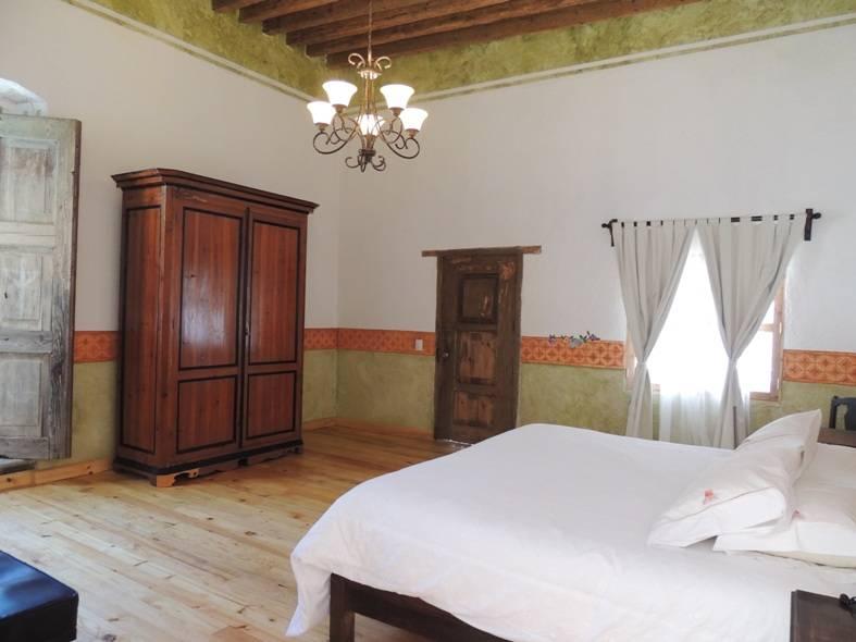 Hacienda soltepec for Cama grand king